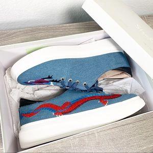 Denim size 9 MSRP $50 Shellys London Women/'s Harper Sneaker